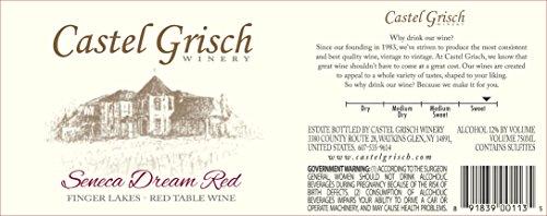 Nv Castel Grisch Seneca Dream Red Finger Lakes 750 Ml