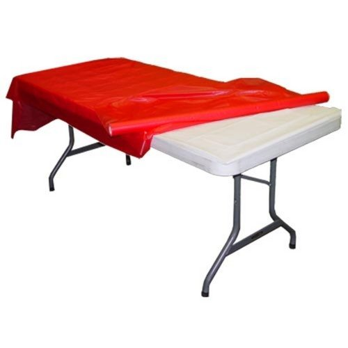 Red plastic table roll (Plastic Table Covering compare prices)