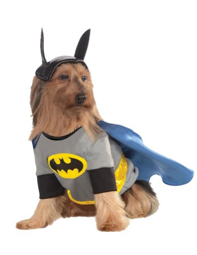 Extra Large - Cat & Dog Costume Batman Xl