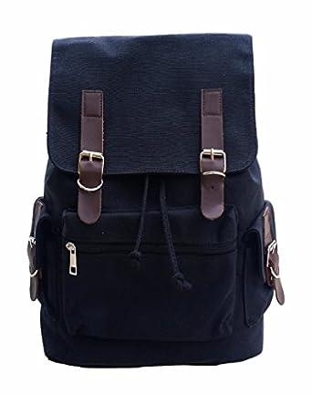 Amazon.com: AM Landen®Canvas Backpack School Bag Travel
