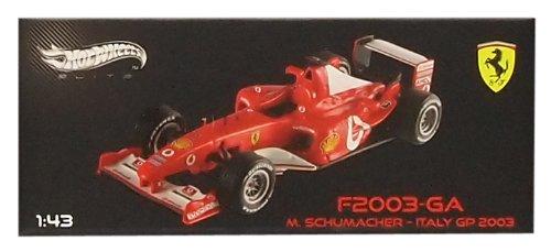 Mattel 1/43 Ferrari F2003-Ga Italy Gp 2003 # 1 (Japan Import)