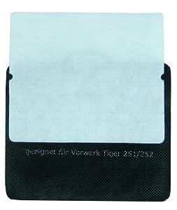 Feinfilter/Motorschutzfilter geeignet für Vorwerk Tiger 250-252 von McFilter
