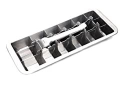 Onyx 18/8 Stainless Steel ICE001 18 Slot Ice Cube Tray