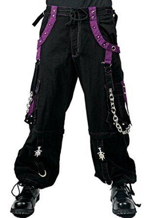 Tripp Men's Baggy Rave Bondage Techno Industrial Goth Pants (42-44 3XL)