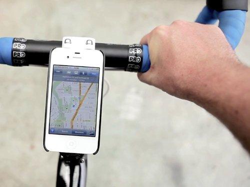 SP491:ワンタッチで装着可能なiPhone4S/4用バイク&ウォールマウントキット「Quad Lock Deluxe Kit(クアッドロックデラックスキット) for iPhone4S/4」 [自転車iPhoneホルダー][バイクiPhoneホルダー]