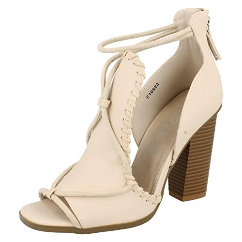 Spot On - Peep-Toe donna , (Nude Snake), 39