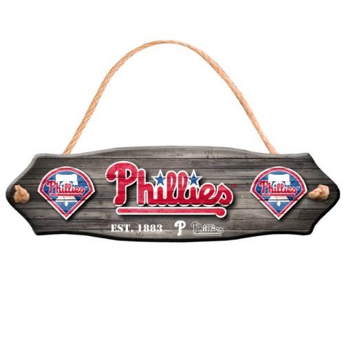 Philadelphia Phillies Home Decorative Fence Sign at Amazon.com