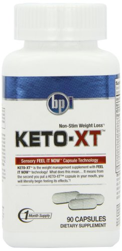 BPI Sports Keto-XT Diet Supplement Capsules, 90 Count