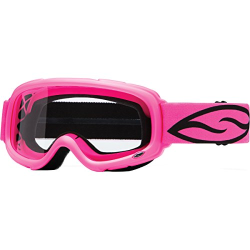Learn More About Smith Optics Gambler MX Motocross Goggles (Bright Pink Frame/Clear Lens)