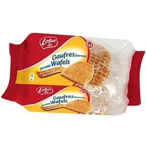 French Vanilla waffles Lotus-gaufres fourrees vanille - 300 gr