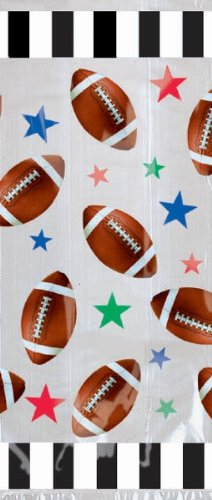 Football Treat Bags Party Accessory