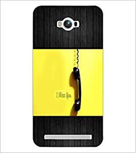 PrintDhaba Quote D-5072 Back Case Cover for ASUS ZENFONE MAX ZC550KL (2016) (Multi-Coloured)