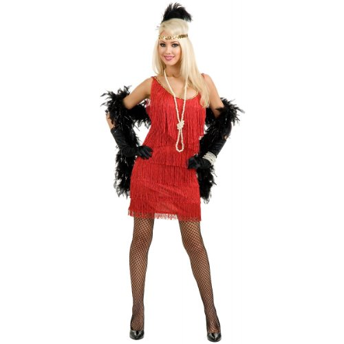 Fashion Flapper Costume - Plus Size 1X - Dress Size 18-22