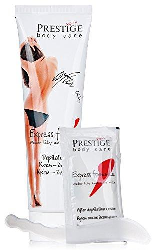 Set da depilazione con Amarillide e latte di Oliva, Vips Prestige.
