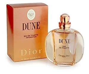Dune By Christian Dior For Women. Eau De Toilette Spray 3.4 Ounces