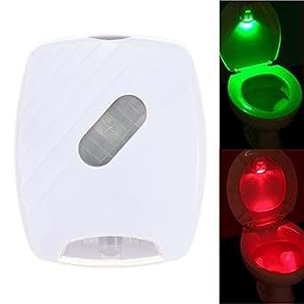 LED A Piles de toilettes LED de Selle d'aisances avec Dédecteur de