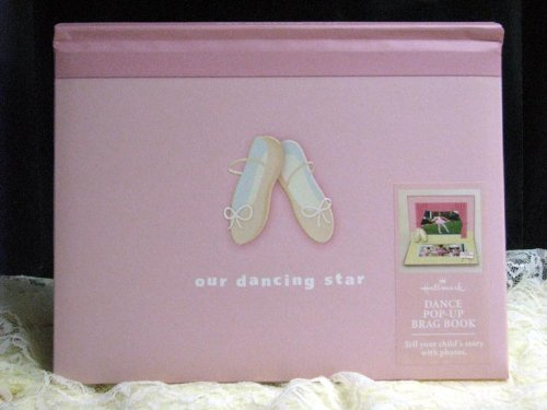 Hallmark Kids Albums KMK2007 Our Dancing Star Pop-Up Brag Book