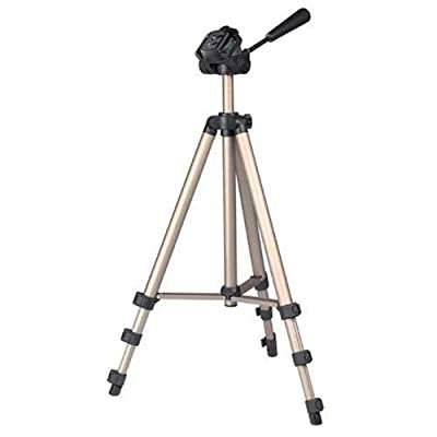 DURAGADGET 125cm size professional tripod stand with quick release and Free Case for for JVC G2 HD620B