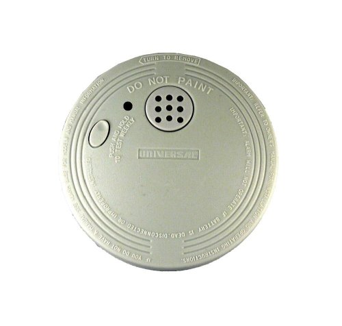 Universal Security Instruments SS-901 Micro Profile Design Photoelectric Smoke and Fire Alarm