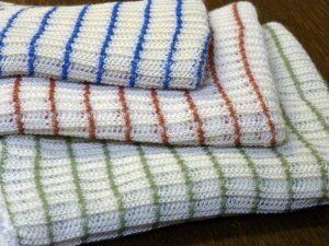 World's Best Dish Cloths - Set of 12 - Assorted Colors (Dish Towels Made In Usa compare prices)