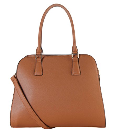 rimen-co-saffiano-pu-leather-concise-design-large-structured-tote-womens-purse-handbag-accented-with