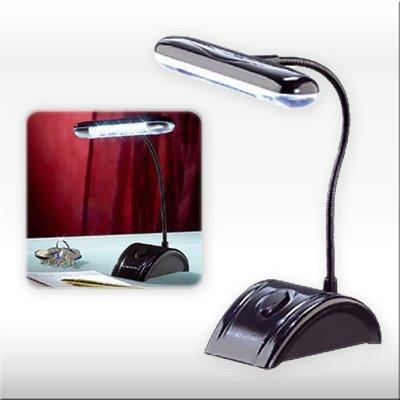 Tischleuchte 'DESK LIGHT' mit 12 LED's - Super flexible und überall einsetzbare Arbeitslampe!