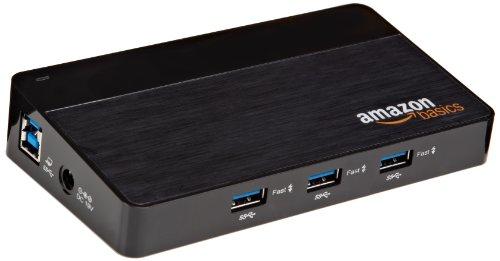 AmazonBasics 10 Port USB 3.0 Hub (Amazon Usb Hub Powered compare prices)