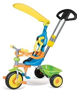 Vivo Unisex Childrens / Children / Kids Girls / Boys Universal Trike Tricycle Bike 3 Wheel with Turning Parent Handle