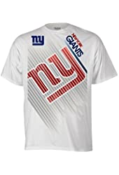 New York Giants Lined Up White T-Shirt