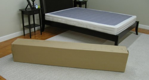 Classic Brands Instant Foundation for Bed Mattress, Easy To Assemble Box Spring, King Size