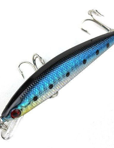 WCG Lure Fishing The Built-in Steel Ball Vibration Laser Depth of 0.5-1.5 Meters Bait