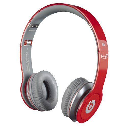 Beats by Dr. Dre Solo HD Red On-Ear Headphone from Monster