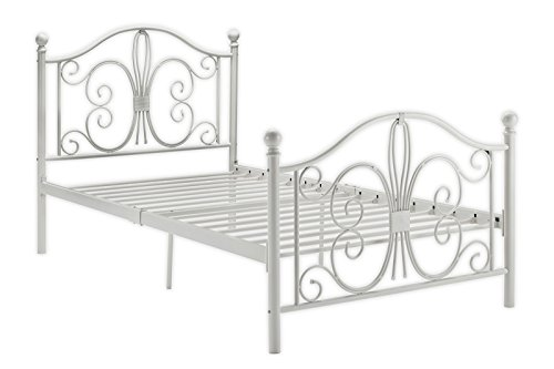 Learn More About DHP Bombay Metal Bed, Twin, White