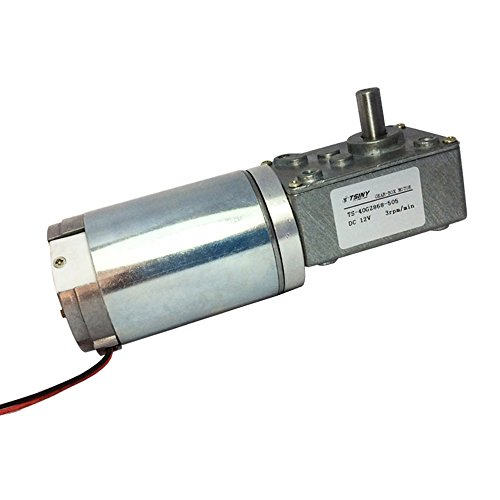 Deals For TSINY Small 12V High Torque 3rpm Worm Gear