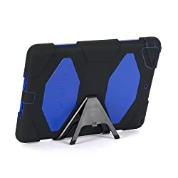 Griffin Technology Black/Blue Survivor Case + Stand for iPad Air