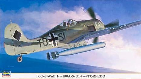 Maquette avion: Fw190A-5/U14 w/Torpedo