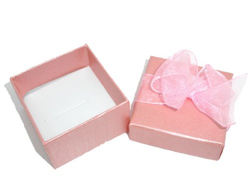 Believe Beads PINK Jewellery Gift Box for Rings (Box Only)