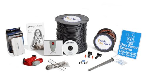 Professional Grade Electric Dog Fence Complete Installation Kit - Includes Electronics