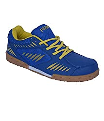 Feroc Power Badminton Blue Sports Shoes (11, Blue)