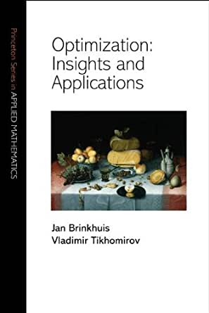 Amazon.com: Optimization: Insights and Applications (Princeton Series