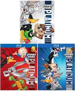 LOONEY TUNES Platinum Collection Vol. 1, 2, 3 (6-disc Blu-ray) [Region-Free German Import]