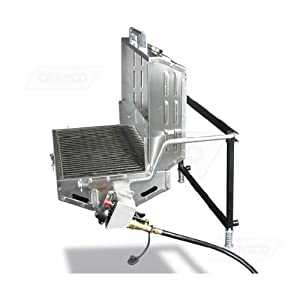 RV Mounted BBQ Trailer Mounted BBQ Motorhome Barbeque Grill with