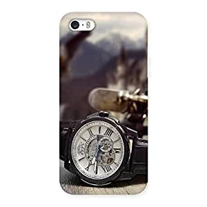 Ajay Enterprises Simple Watch Back Case Cover for iPhone 5 5S