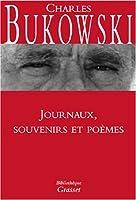 Journal, souvenirs et poèmes