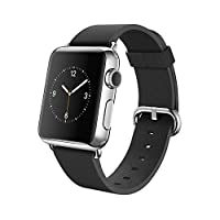 Apple Watch 42mm Stainless Steel Case w/ Black Classic Buckle