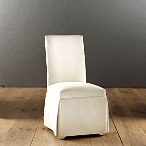Amazon.com - Parsons Chair Slipcover in Made to Order ...