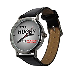 Its a Rugby Thing Design Watch, a perfect gift for all Rugby Fans