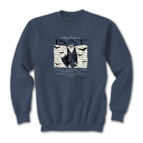 Advice From A Bat ~ Indigo Blue Sweatshirt