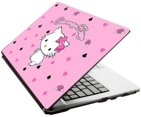 Hello Kitty Charmmy Kitty Netbook skin fits Asus Acer Dell HP GW laptop skin
