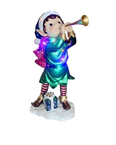 National Tree Company 37 Pre-Lit Horn Elf